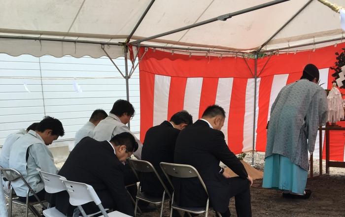 大阪生野区アパートプロジェクト 地鎮祭