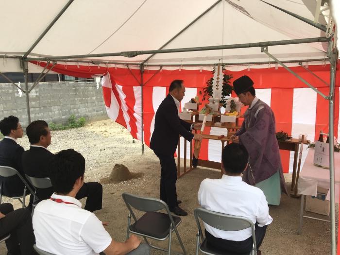 京都京田辺アパートプロジェクト 地鎮祭