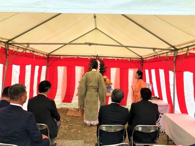 【京都・西新屋敷】ホテルプロジェクト 地鎮祭を行いました